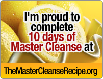 Master Cleanse badge